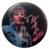 Bruce Springsteen - 'War' Button Badge